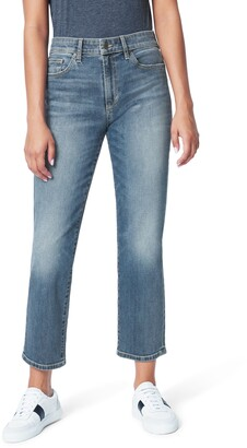 Joe's Jeans The Scout High Waist Crop Straight Leg Jeans