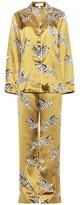 Olivia von Halle Lila Mona silk pyjamas