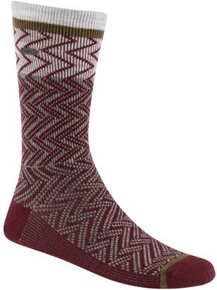 Sorel Women's Pattern Block Chevron Wool Crew Socks
