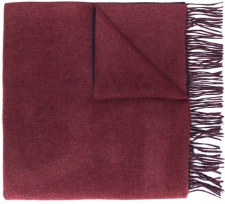 N.Peal Woven Cashmere Shawl Scarf