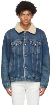 Nudie Jeans Blue Denim Bonny Shine Jacket