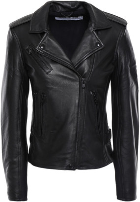 IRO Newhan Leather Biker Jacket