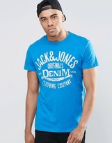 Jack and Jones T-Shirt with Classic Logo Print