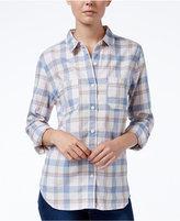 Levi's Plaid Workwear Boyfriend Shirt