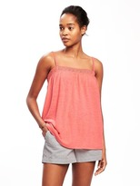 Old Navy Shirred Cami Swing Top for Women