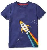 Boy's Mini Boden Space Glow In The Dark T-Shirt