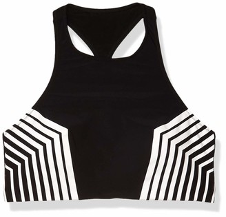 Gottex Women's Sport Racerback High Neck Bikini Top Swimsuit