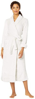 Natori Plush Sherpa Robe 52 (Bone) Women's Robe