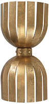One Kings Lane Olympia Double Wall Sconce - Gold Leaf