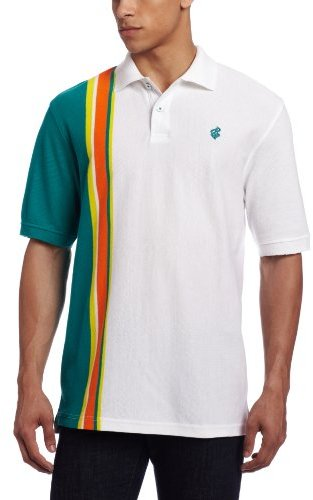 Rocawear Men's Short Sleeve Wave Rider Polo