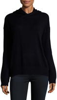 Vince Women's Cashmere Crossover Hoodie
