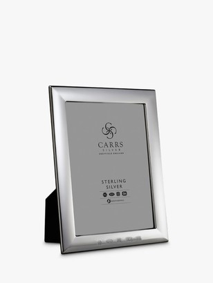Carrs of Sheffield 2020 Sloane Photo Frame, Sterling Silver