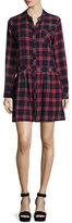Current/Elliott The School Dress, Ranch Plaid