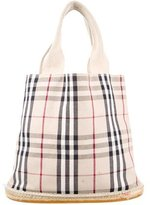 Burberry Classic Nova Check Bucket Bag