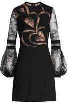 Elie Saab Mini Dress with Lace
