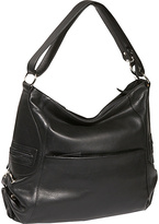 Derek Alexander Large Soft Bodied Top Zip Hobo