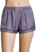 Araks Tia Dotted Silk Charmeuse Boxer Shorts