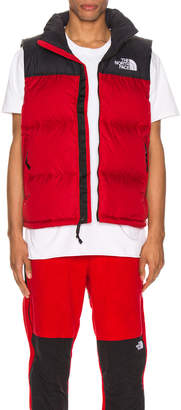 The North Face 1996 Retro Nuptse Vest in TNF Red | FWRD