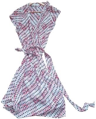 Topshop Tophop Ecru Silk Dress for Women