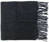 Carhartt fringed knitted scarf