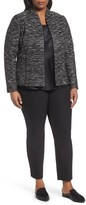 Lafayette 148 New York Plus Size Women's Meryl Zip Front Jacket