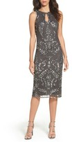 Pisarro Nights Women's Beaded Pencil Dress