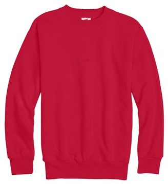 Hanes Boys 4-18 Ecosmart Fleece Crew Neck Sweatshirt