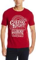 Lucky Brand Men's Casino Night Graphic Tee