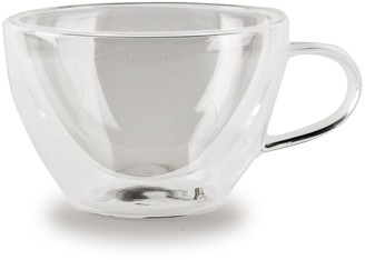 Circle Glass Thermax 8oz. Coffee/Tea Cups - Set of 2