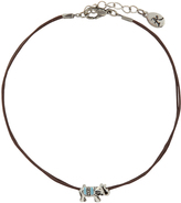 Accessorize Elephant Cord Anklet
