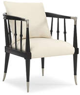 Caracole Leone Accent Chair - Black