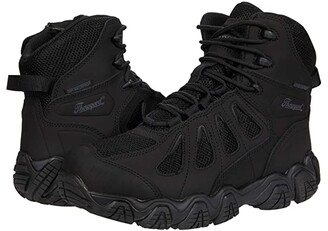 Thorogood Crosstrex 6 Side Zip Waterproof (Non-Safety) (Black) Men's Shoes