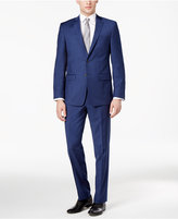 Calvin Klein Men's Extra-Slim Fit Blue Suit