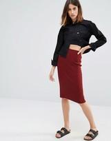 Vero Moda Knitted Pencil Skirt