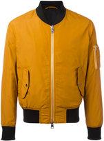 Ami Alexandre Mattiussi zipped bomber jacket - men - Polyimide - S