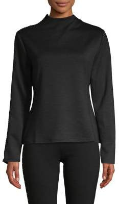 Vince Camuto Studded Long-Sleeve Top