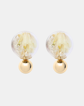 Short Story Flower Fantasy Bubble Earrings