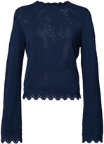 Derek Lam 10 Crosby cut-out detail jumper - women - Cotton - XS