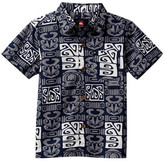 Quiksilver Ohu Woven Short Sleeve Shirt (Toddler Boys)