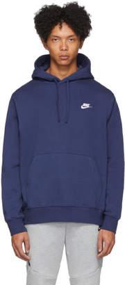 Nike Navy Pullover Hoodie