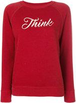 Etoile Isabel Marant Think slogan sweatshirt - women - Cotton/Polyester/Viscose - 36