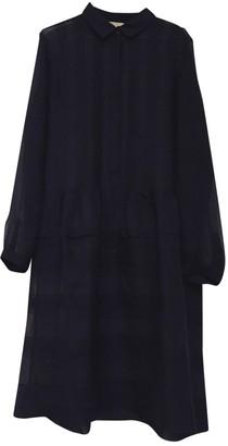 Burberry Blue Silk Dresses