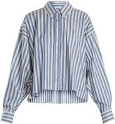 Isabel Marant Macao striped cotton shirt