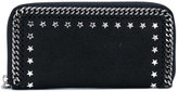 Stella McCartney star-studded Falabella wallet - women - Polyester/metal - One Size