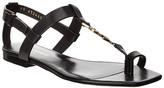 Thumbnail for your product : Saint Laurent Cassandra Leather Sandal
