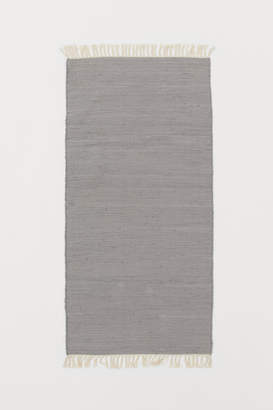 H&M Cotton Rag Rug - Gray