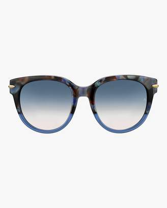 Rag & Bone Round Cay Eye Polarized Sunglasses