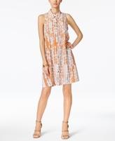 Alfani Petite Floral-Print Shirtdress, Created for Macy's