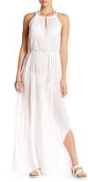 Letarte Front Keyhole Crinkle Dress