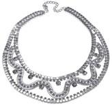 Gottex Crystal Wavy Necklace.